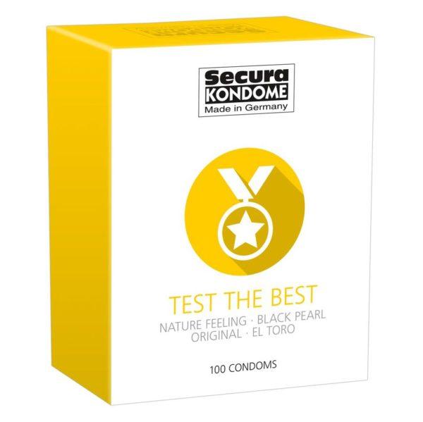 Secura Kondome Test The Best Mixed x100 Condoms