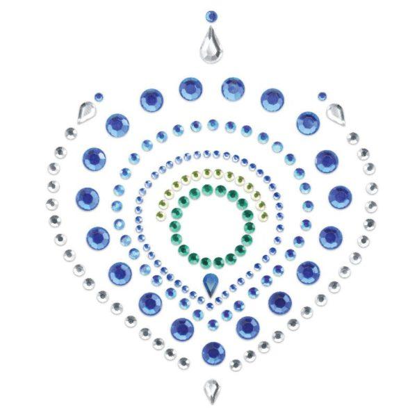 Bijoux Indscrets Flamboyant Body Jewelery Blue And Green