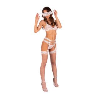 Corsetti Sameera Open Crotch and Panty Set