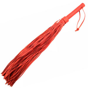 Rouge Garments Large Red Leather Flogger